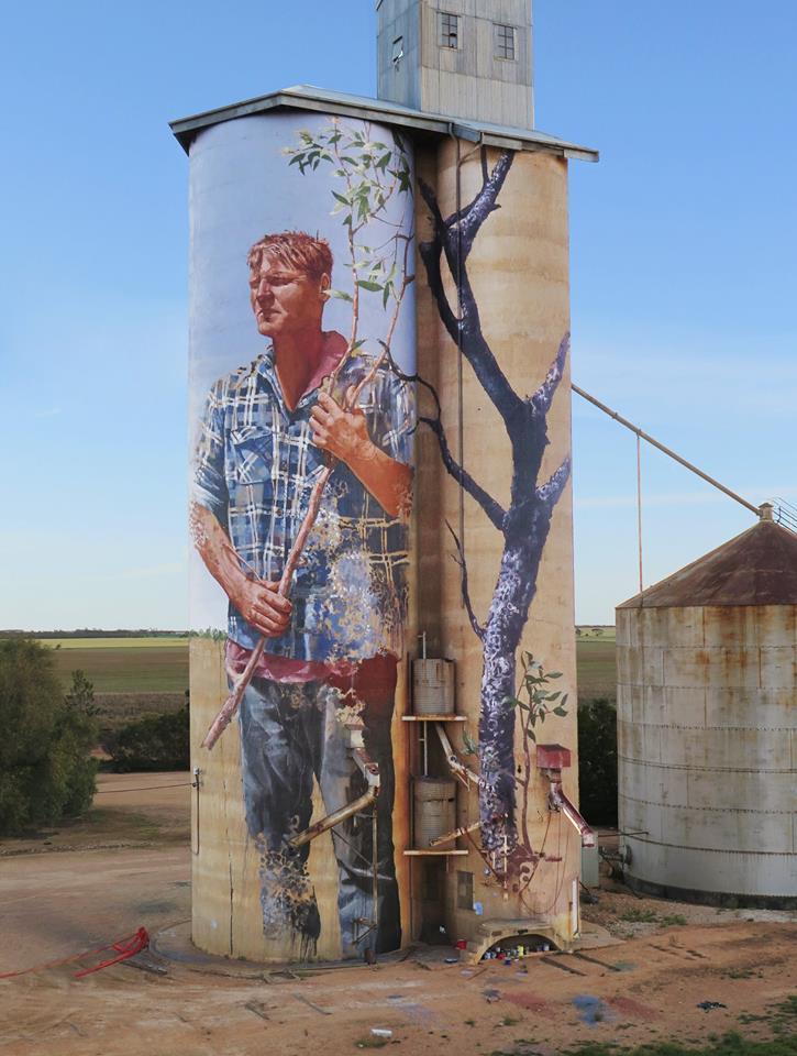 Fintan Magee Street Art Artpeople Net