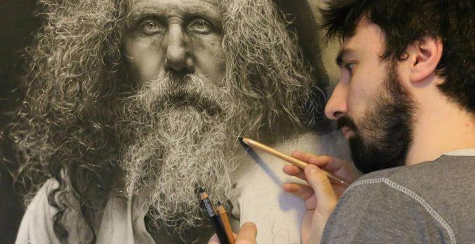 Emanuele Dascanio  Pencil Drawing