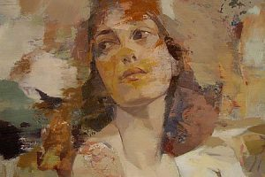 Yuriy Ibragimov |Portrait on canvas