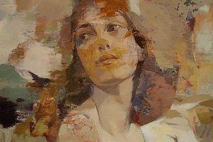 Yuriy Ibragimov |Portrait on canvas