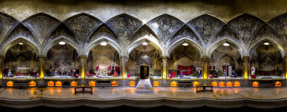 Vakil bath is located on the west of Vakil mosque in city of Shiraz and belongs to Zand dynasty.