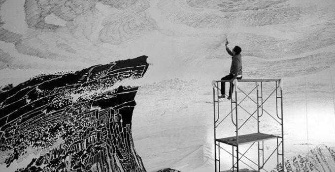 Oscar Oiwa |Panoramic 360° Drawings