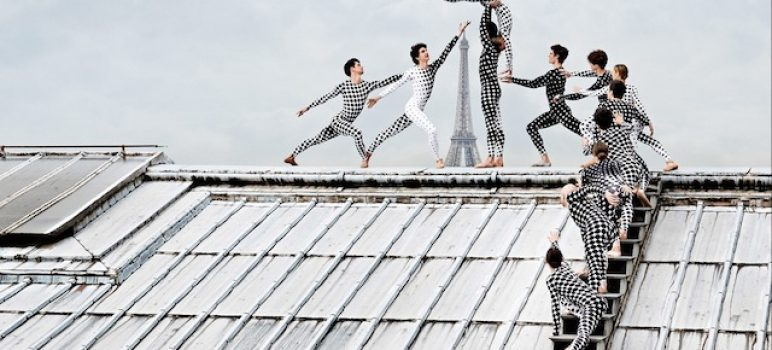 R Artist |Rooftop Dancers in Paris