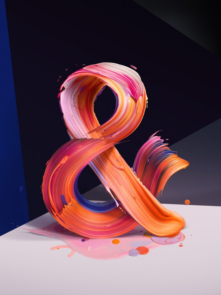 Typgraphic illustration created for The New Republic magazine - a hundred years old magazine that treats mainly about politics, culture, art & big ideas.   In every issue the Book & The Arts section opener features an artist's representation of an ampersand symbol.   The previous ampersands series featured the work of Sagmeister & Walsh, Tom Sachs or Arem Duplessis etc.
