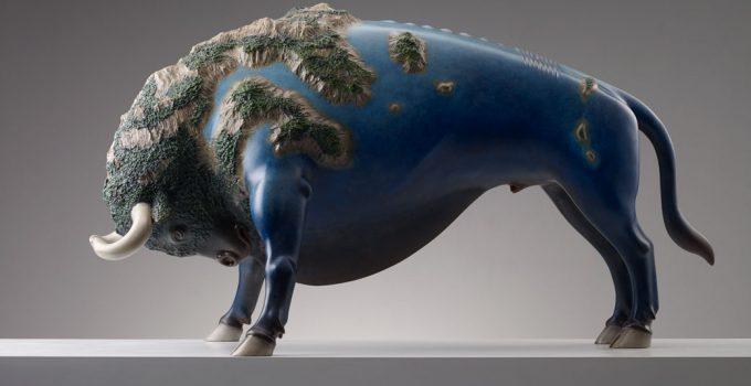 Wang Ruilin  Surreal animal sculptures