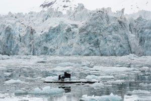 Historic performance with pianist ludovico einaudi on the arctic ocean