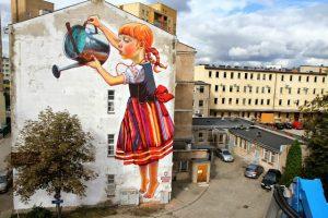 Natalia Rak |Mural streetart