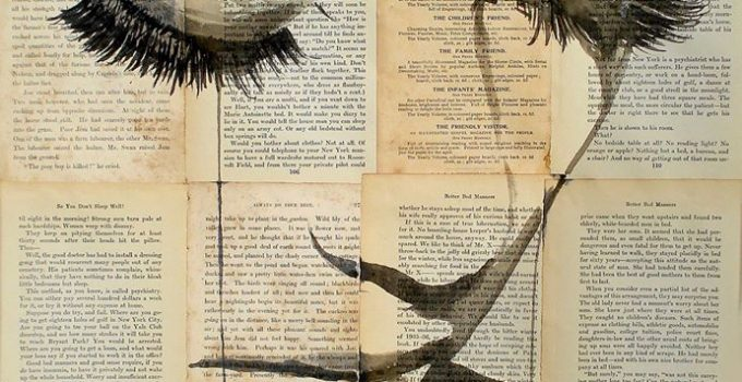 Loui Jover |Ink Drawings On Newspaper