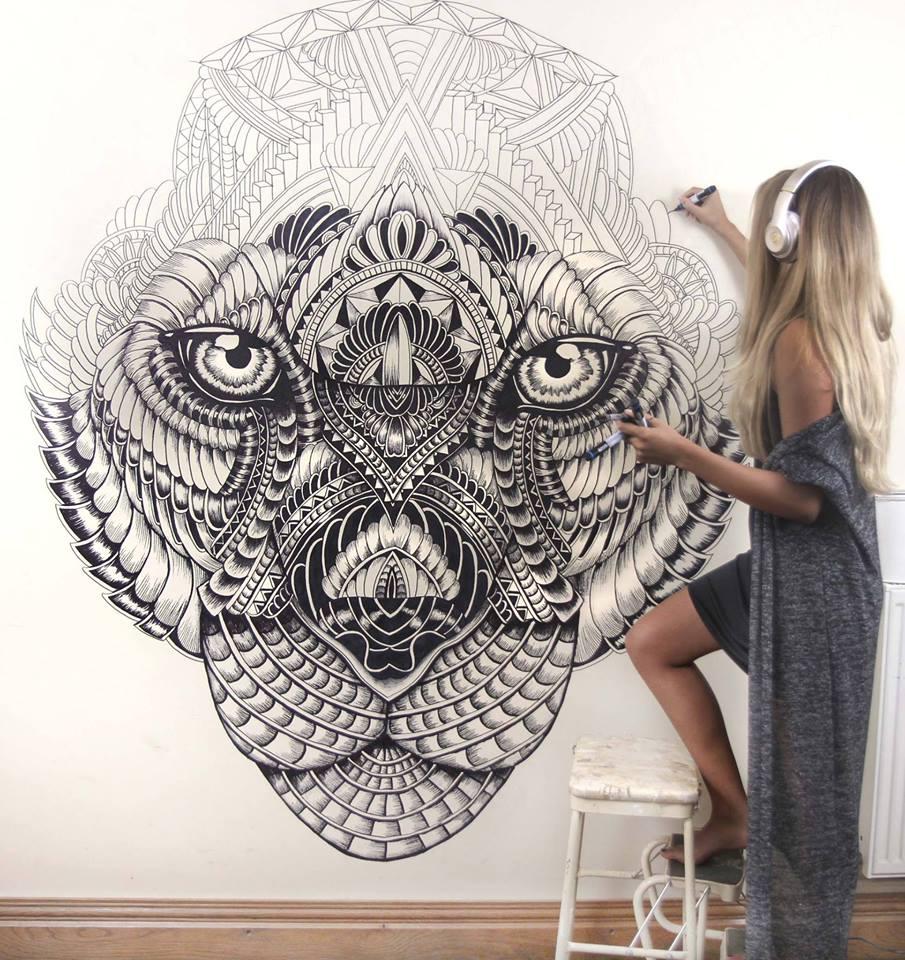 Mandala Wall Art Design