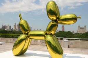 Jeff Koons |$58.4M Orange Balloon Dog