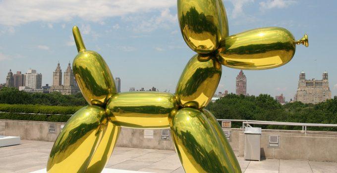 Jeff Koons  $58.4M Orange Balloon Dog