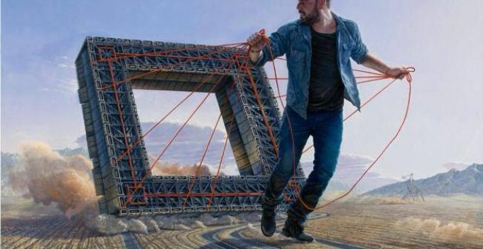 Jean-Pierre Roy |Giants Surreal Paintings