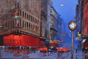 Kal Gajoum |CityScapes Painting