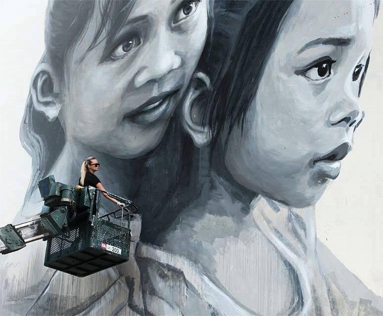 Julia Volchkova | Street art.