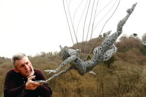 Robin Wight - Wire Sculpture