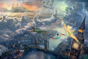 THOMAS KINKADE | Disney Paintings