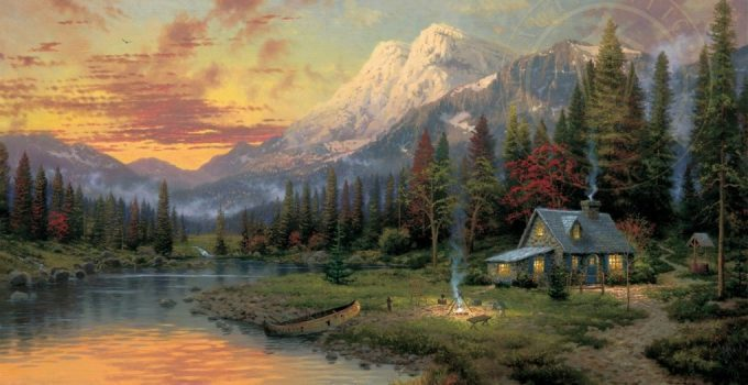 THOMAS KINKADE | GREAT OUTDOORS.
