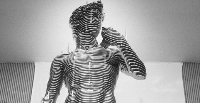 Park Chan-girl | Steel Nut Sculptures