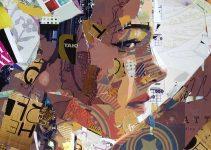 Derek Gores |Portraits / Recycled Magazines