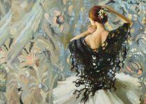 Anastasia Vostrezova |Ballet Paintings