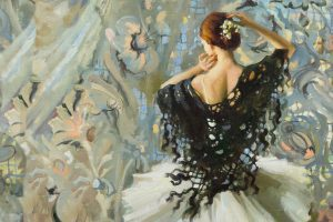 Anastasia Vostrezova |Ballet Paintings