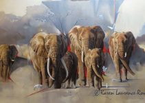 Karen Laurence-Rowe Wildlife Artist