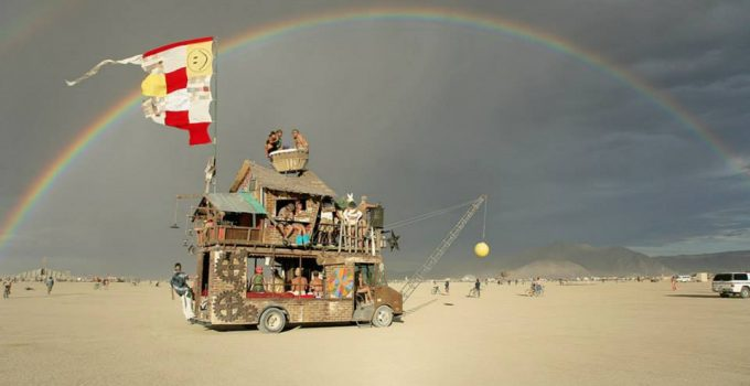 Burning Man by Jonathan Clark.