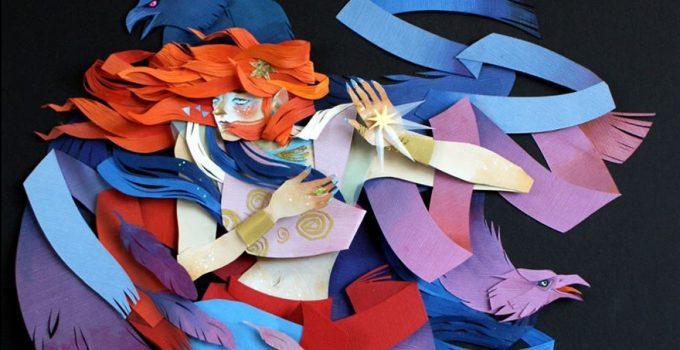 Morgana Wallace |Cut Paper Sculpture