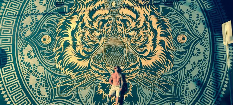 Chris Saunders | abstraction, and psychedelic experience
