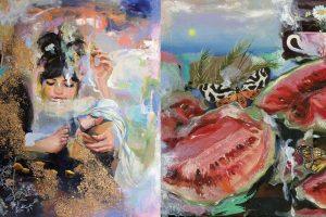 Beautiful Dreamlike paintings by Tina Yu