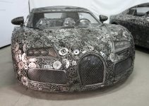 Artists Recycle Scrap Metal Into Supercars