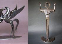 Jean-Pierre Augier |Metal sculpture