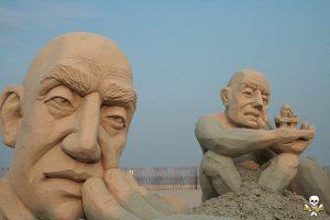 Carl Jara |Sand Sculpture