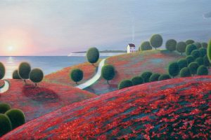 Paul Corfield, Landscape painter