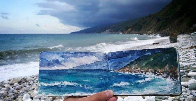 The foldable landscapes   Lilla Schuch