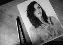 Pencil portrait by Jossluka