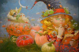 Fantasy painter Victor Nizovtsev