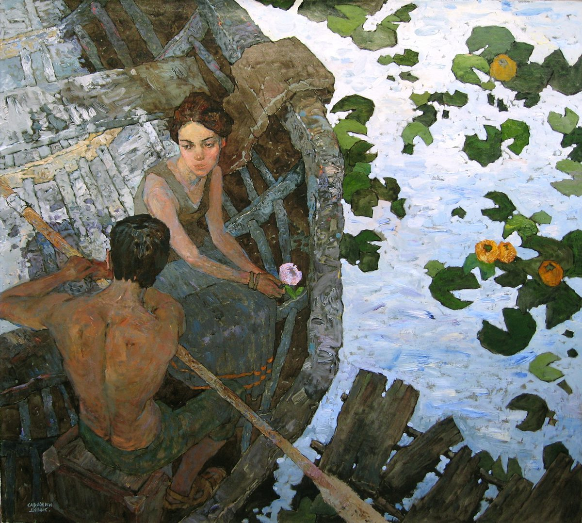 Contemporary Realist painter by Denis Sarazhin