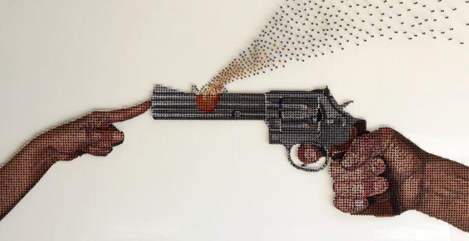 Andrew Myers Uses 6,000 Screws -Love Over Evil