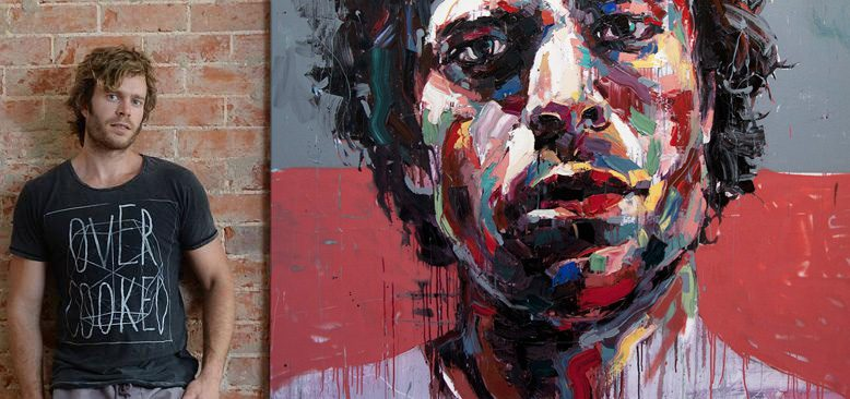 contemporary portrait artist Josh Miels #artpeople