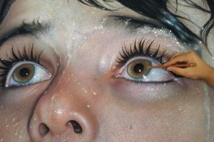 Turkish Hyperrealist and photorealist painter Mustafa Yuce