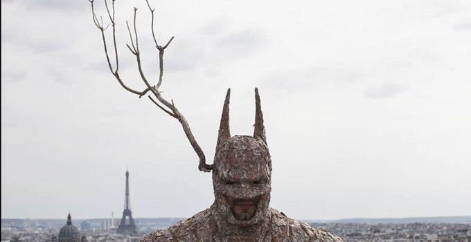 Batman vs Mr Plant.#artpeople