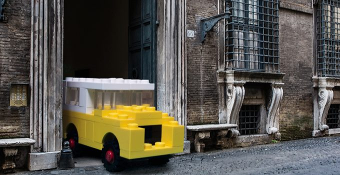 LEGO vehicles take to the ancient streets of rome by Domenico Franco