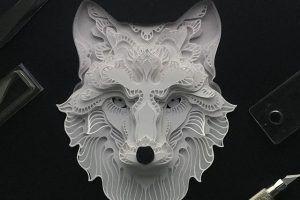 Patrick Cabral | papercut animals #artpeople