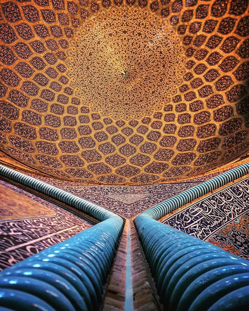 Architectural details of ceilings in iran by m1rasoulifard