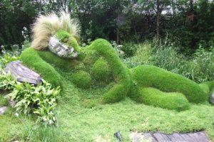 Heligan Lost Gardens , Cornwall, England