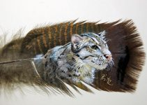 Hand Painted Feathers | Red Tail Arts #artpeople