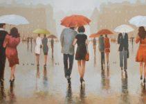 Hundreds Of People Walking In The Rain | RIMANTAS VIRBICKAS