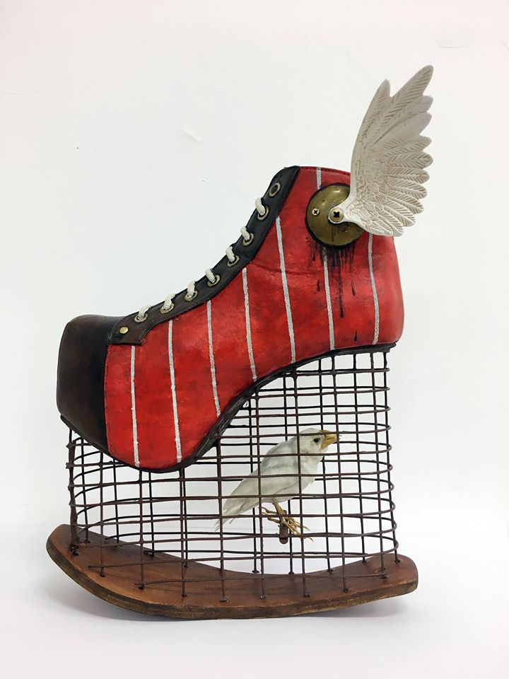 Costa Magarakis , Shoe sculpture