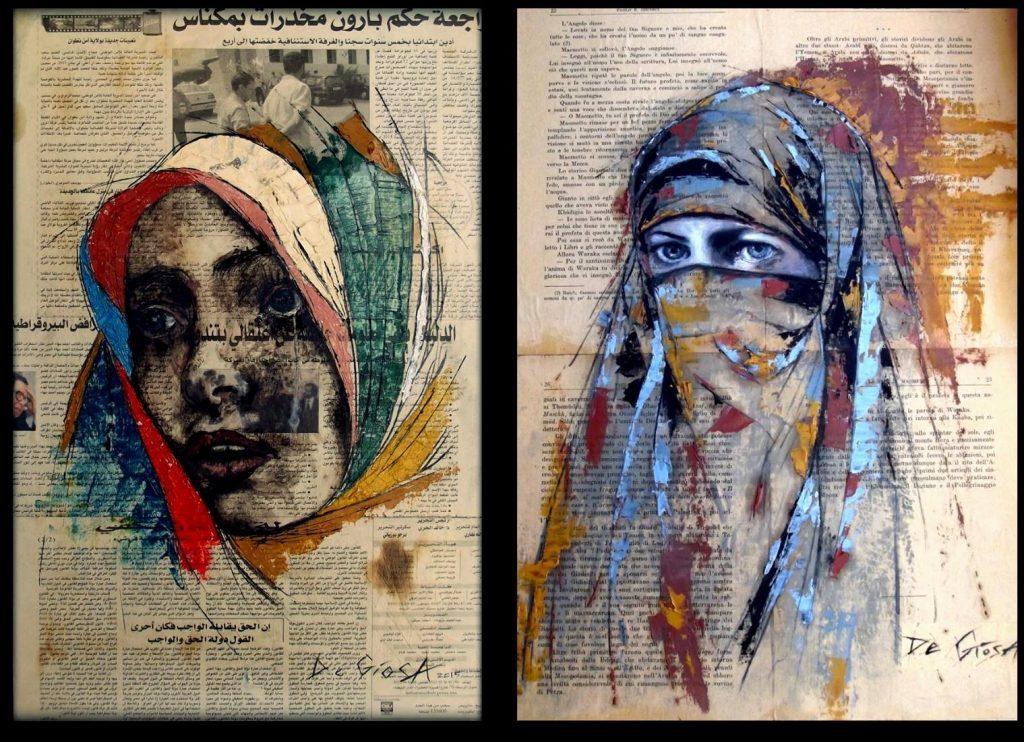 Paolo De Giosa Figurative expressionist Painter #artpeople